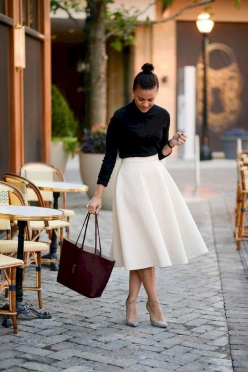37 весенних образов с модными юбками которые вы должны попробовать | 4