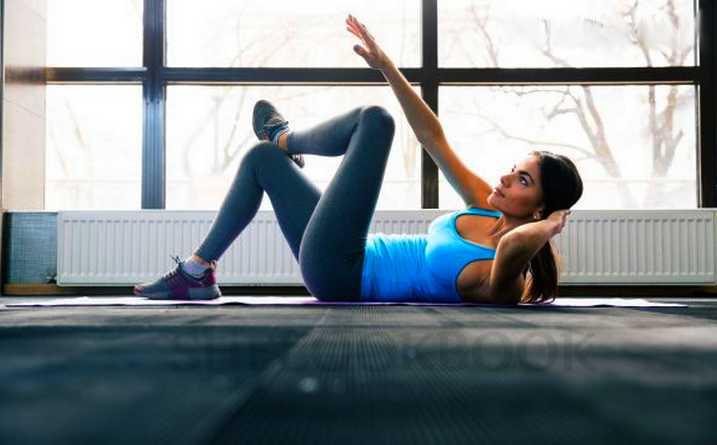 Цель — плоский живот. 5 упражнений которые уберут жир с живота | 4