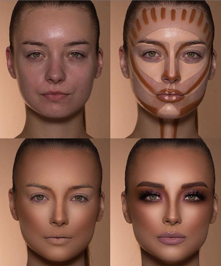 Пошаговые схемы профессионального макияжа для начинающих | 4