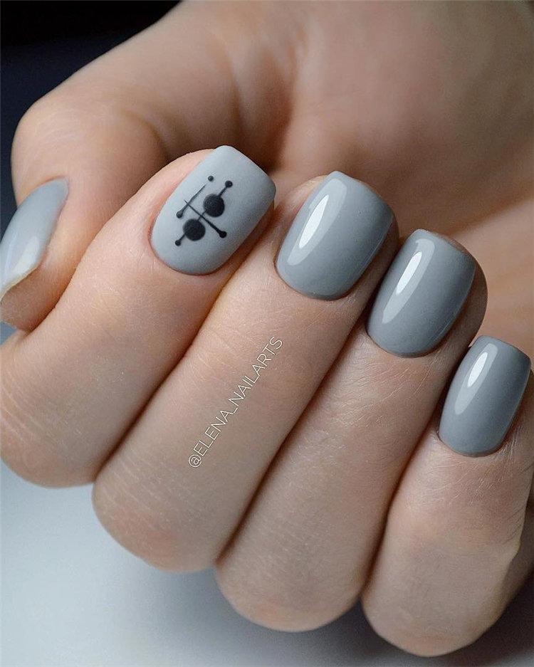 50 идей дизайна ногтей гель-лаком | 43