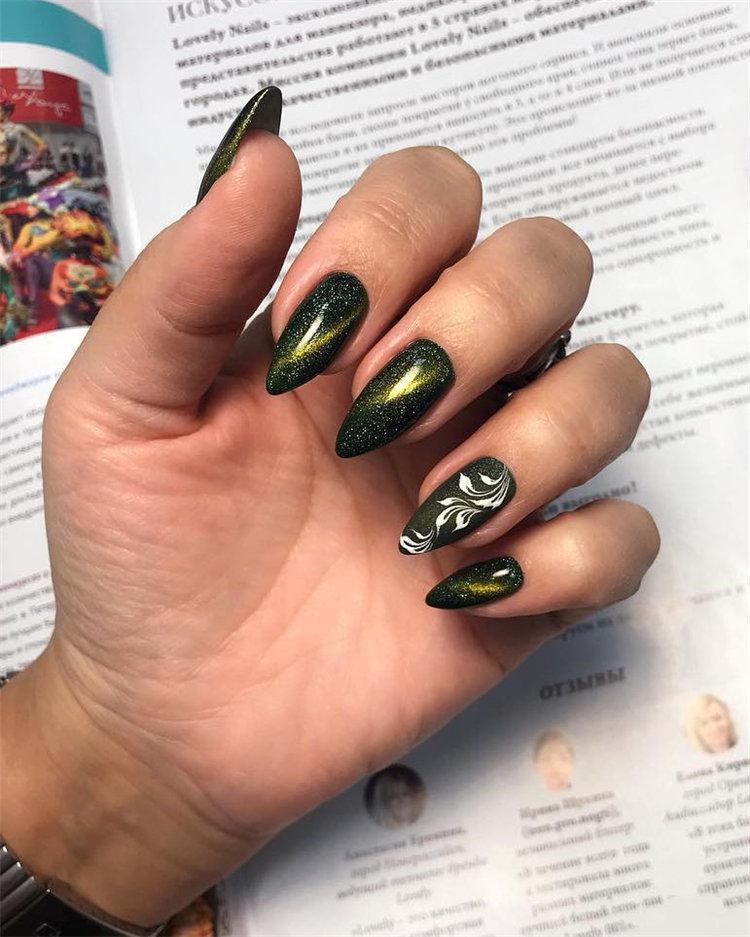 50 идей дизайна ногтей гель-лаком | 45