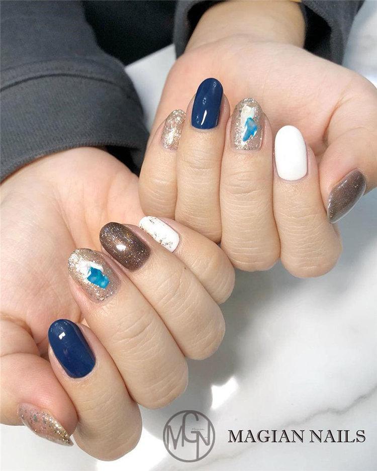 50 идей дизайна ногтей гель-лаком | 47