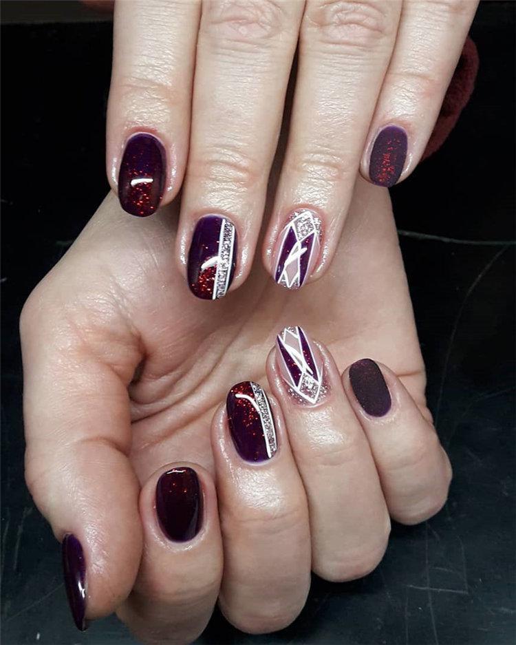 50 идей дизайна ногтей гель-лаком | 48