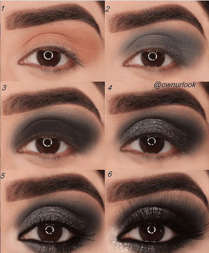 60 пошаговых схем макияжа для век | 5
