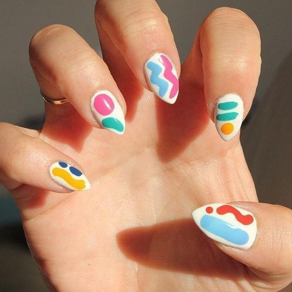 39 обворожительных идей дизайна ногтей на предстоящую весну | 5
