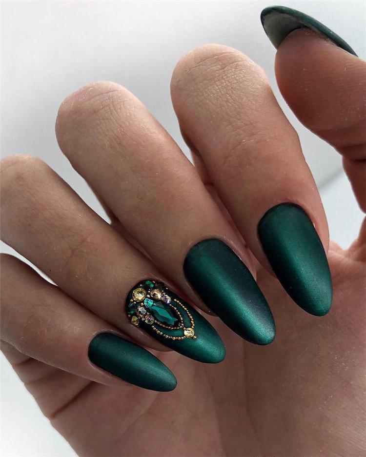 50 идей дизайна ногтей гель-лаком | 5