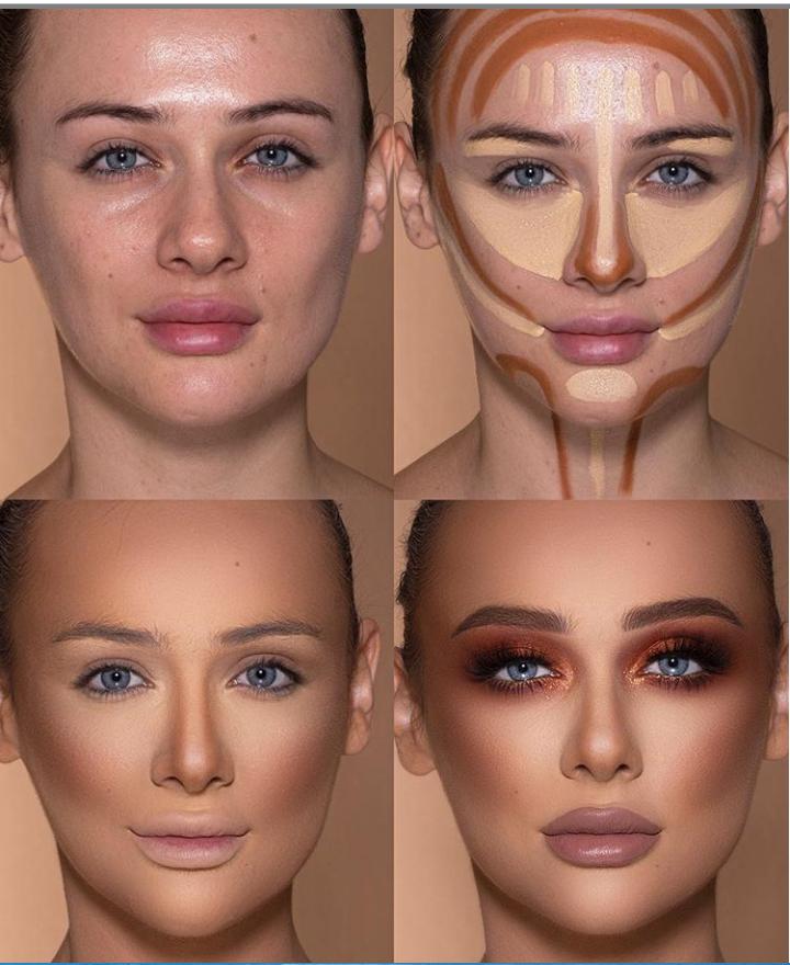 Пошаговые схемы профессионального макияжа для начинающих | 5