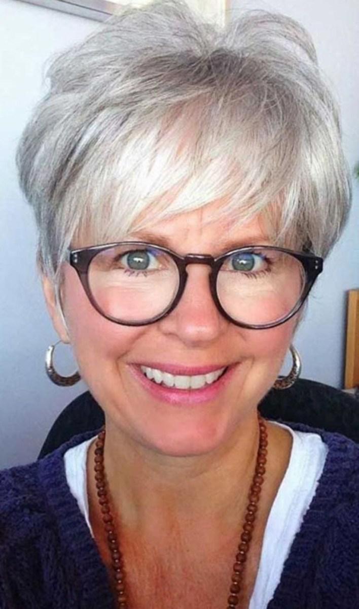 38 милых стрижек для женщин старше 40, которые помогут сбросить 10 лет | 5