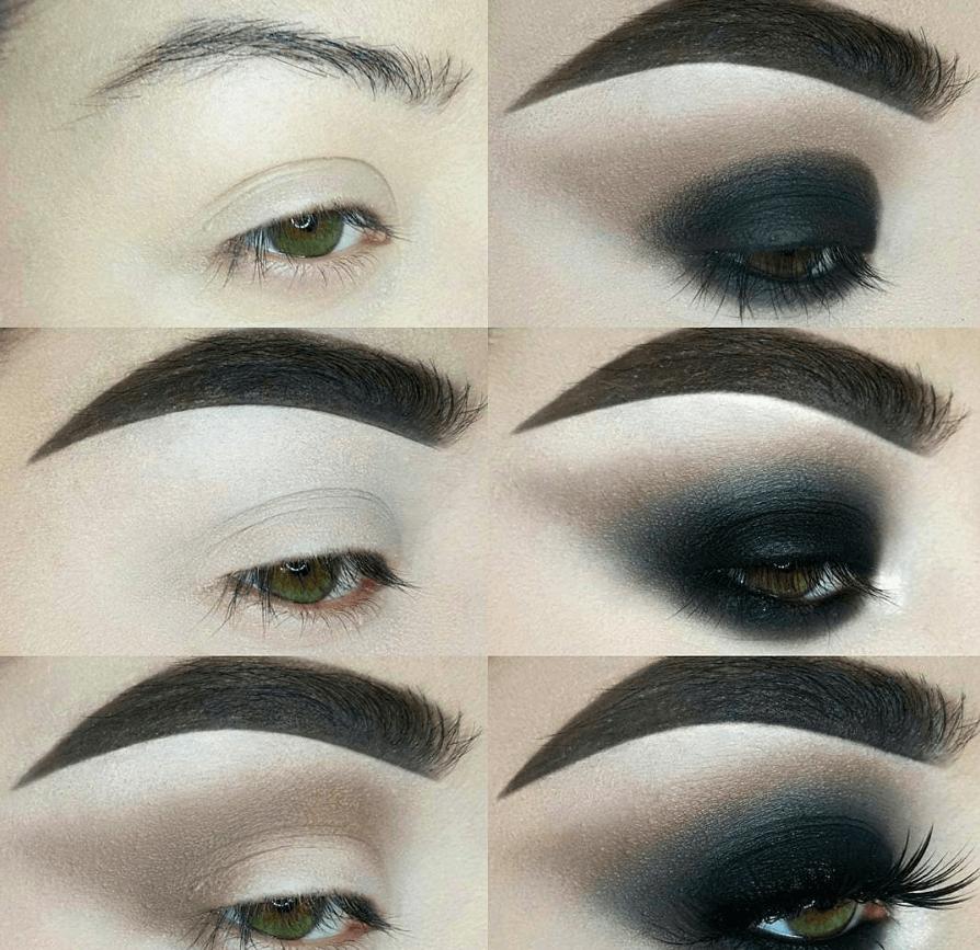 60 пошаговых схем макияжа для век | 6