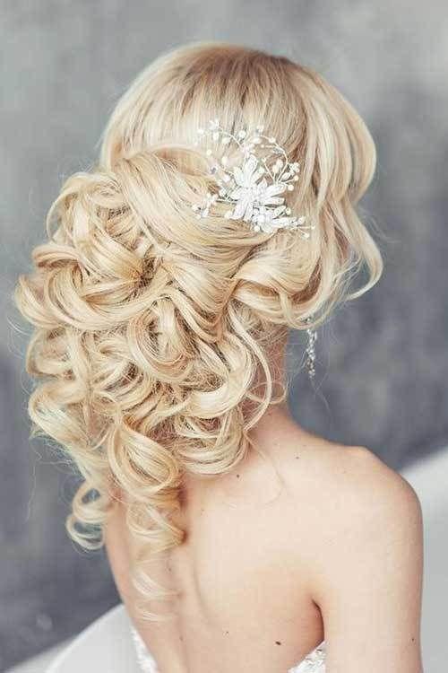 39 элегантных свадебных причесок   6