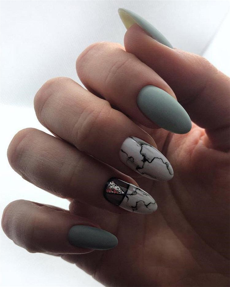 50 идей дизайна ногтей гель-лаком | 6
