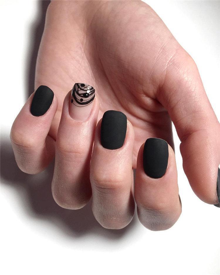 50 идей дизайна ногтей гель-лаком | 7