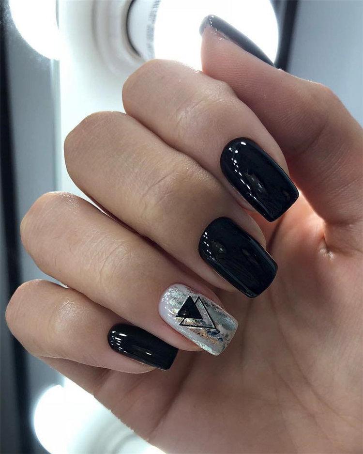 50 идей дизайна ногтей гель-лаком | 8