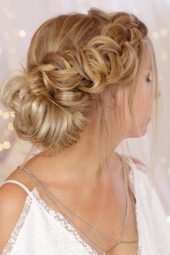 39 элегантных свадебных причесок   9