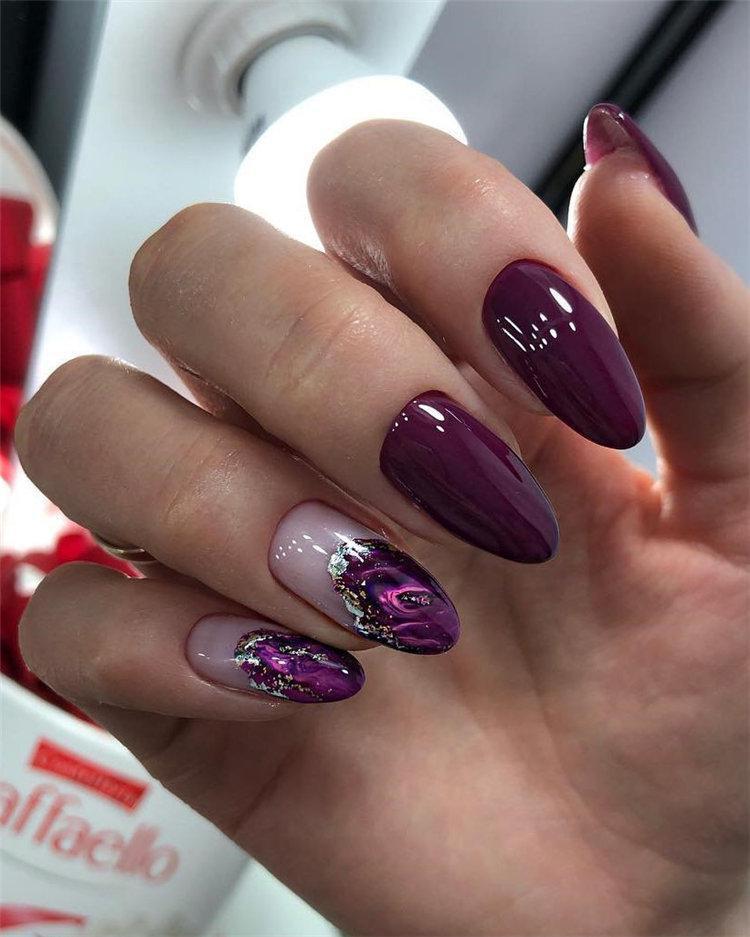 50 идей дизайна ногтей гель-лаком | 9