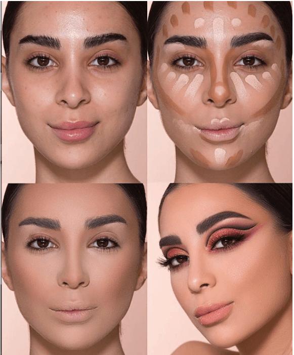 Вечерний контурный макияж: пошаговые инструкции | 1