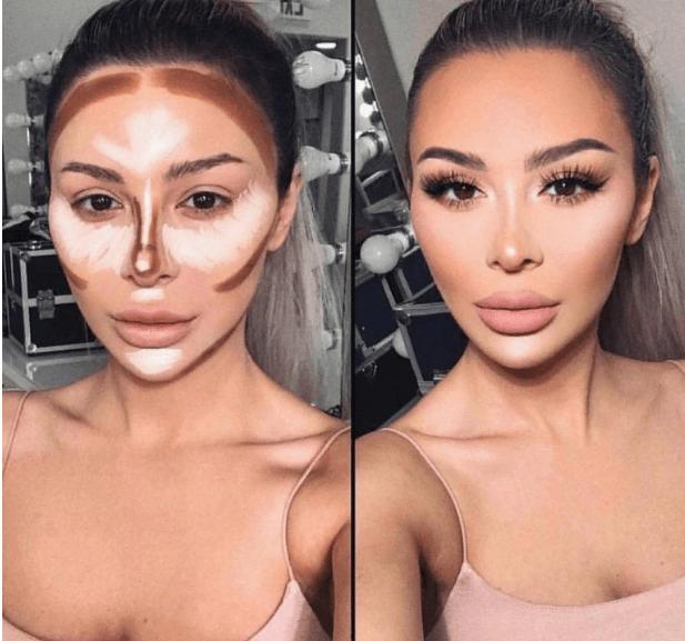 Вечерний контурный макияж: пошаговые инструкции | 13