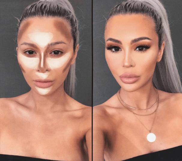 Вечерний контурный макияж: пошаговые инструкции | 14