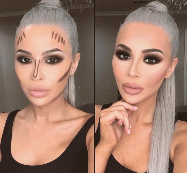 Вечерний контурный макияж: пошаговые инструкции | 18