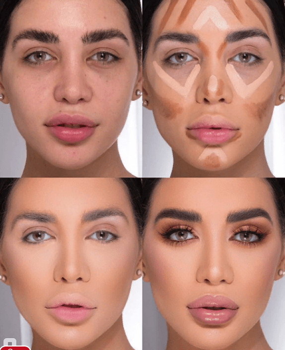 Вечерний контурный макияж: пошаговые инструкции | 2