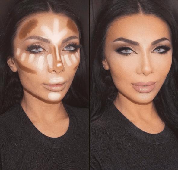Вечерний контурный макияж: пошаговые инструкции | 20