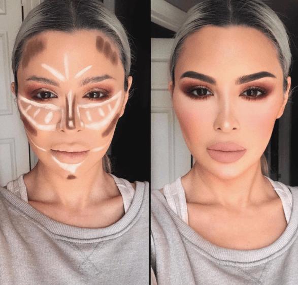 Вечерний контурный макияж: пошаговые инструкции | 22