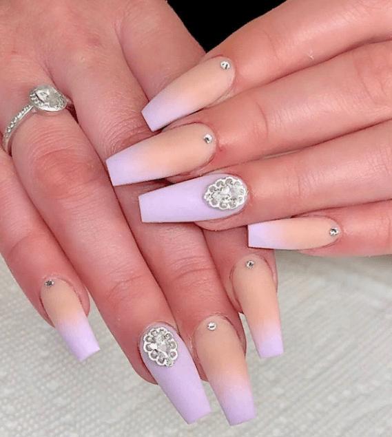 Невероятно красивые идеи летнего маникюра 2019 на ногти-пуанты | 29