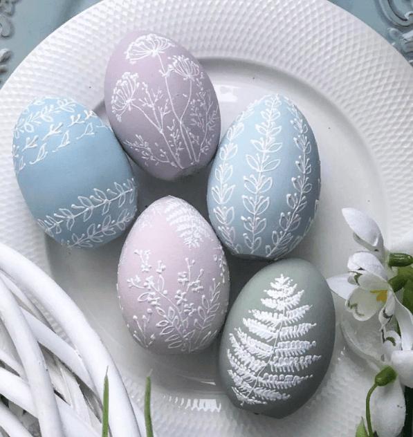 Как раскрасить яйца на Пасху, 40 идей | Интернет-Cолянка