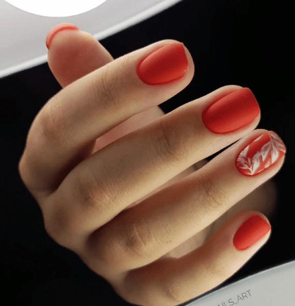 Красный маникюр на выпускной вечер: лучшие идеи 2019 | 4