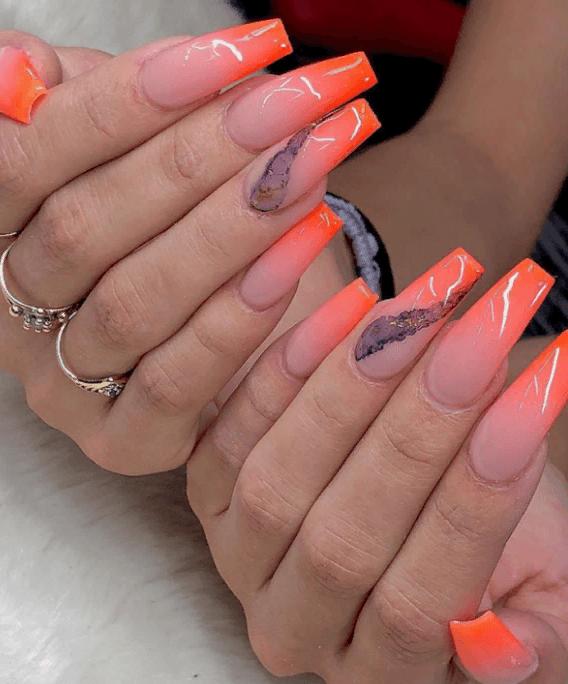 Невероятно красивые идеи летнего маникюра 2019 на ногти-пуанты | 5