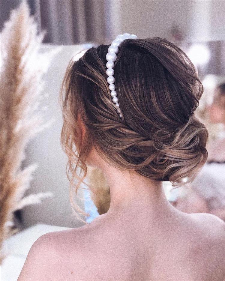 70+ свадебных причесок 2019 | 7