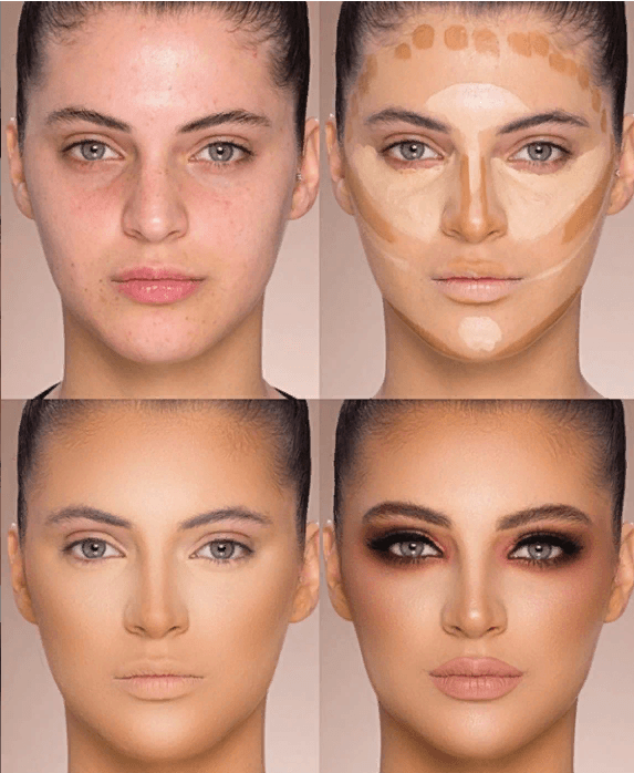Вечерний контурный макияж: пошаговые инструкции | 7