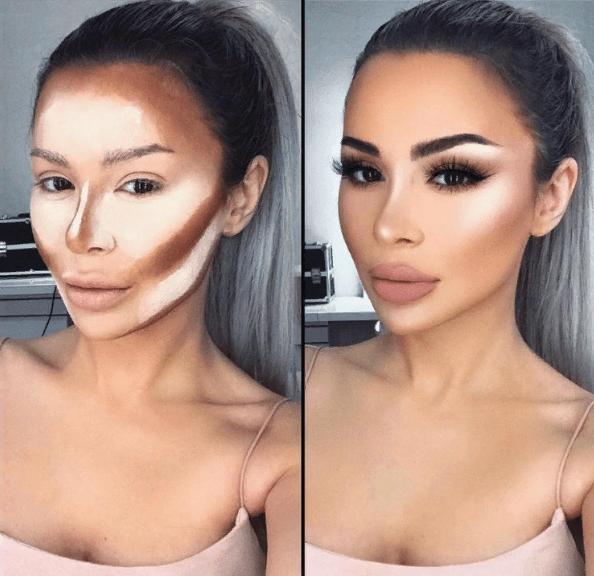 Вечерний контурный макияж: пошаговые инструкции | 8