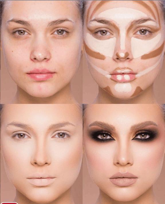 Вечерний контурный макияж: пошаговые инструкции | 9
