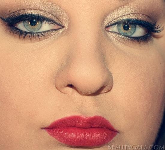 Идеи макияжа для зеленых глаз - 01