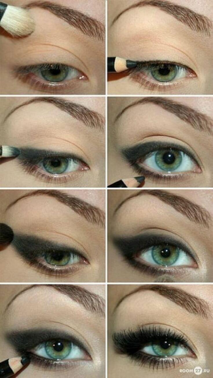 Идеи макияжа для зеленых глаз - 10