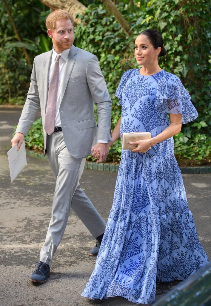 Почему Меган Маркл во время беременности предпочитала синий цвет? image11