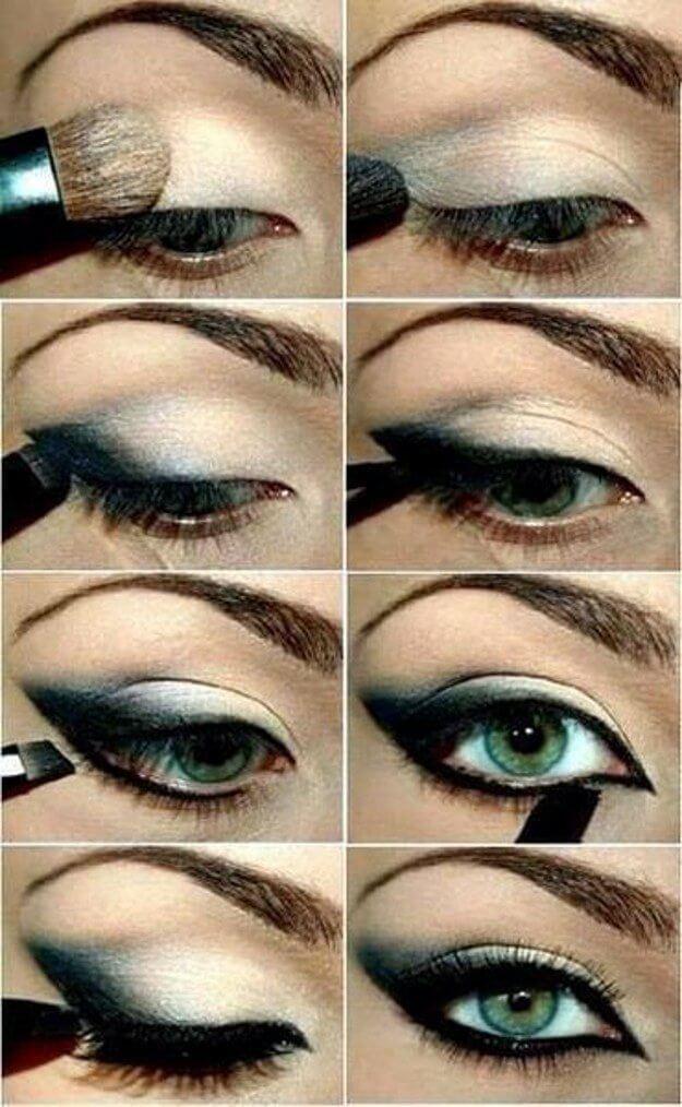 Идеи макияжа для зеленых глаз - 11