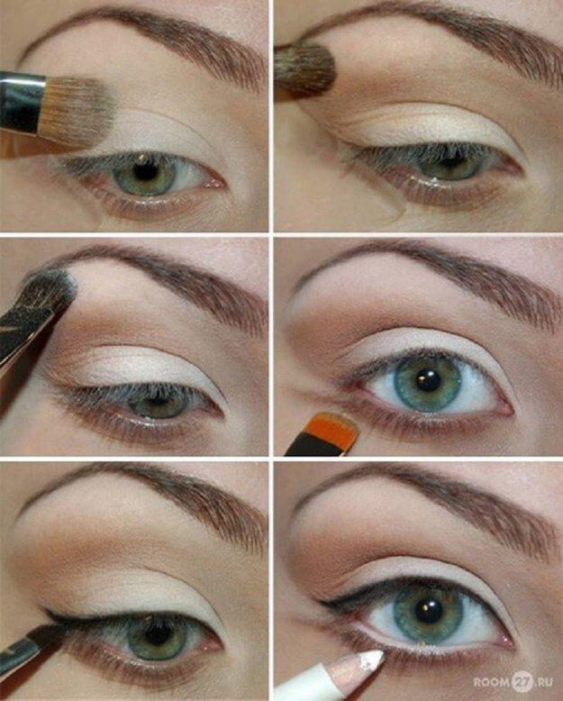Идеи макияжа для зеленых глаз - 13