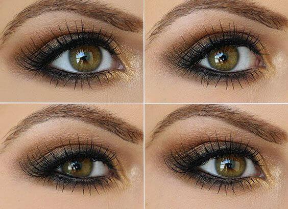 Идеи макияжа для зеленых глаз - 02