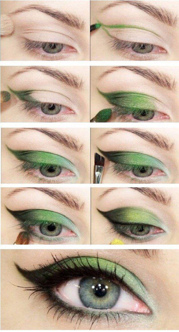 Идеи макияжа для зеленых глаз - 04