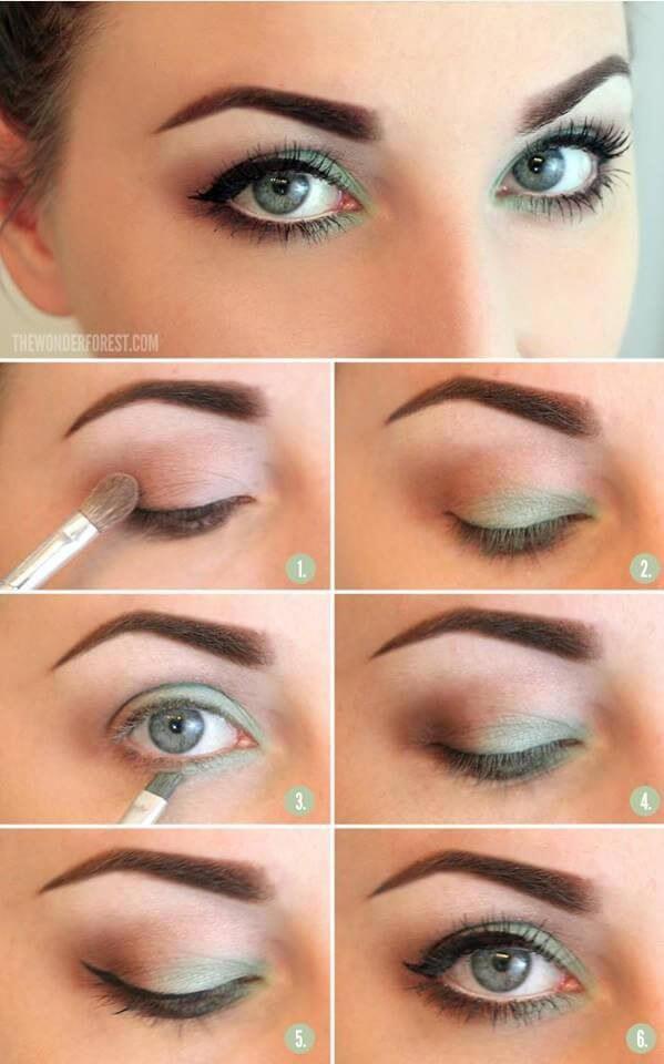 Идеи макияжа для зеленых глаз - 05
