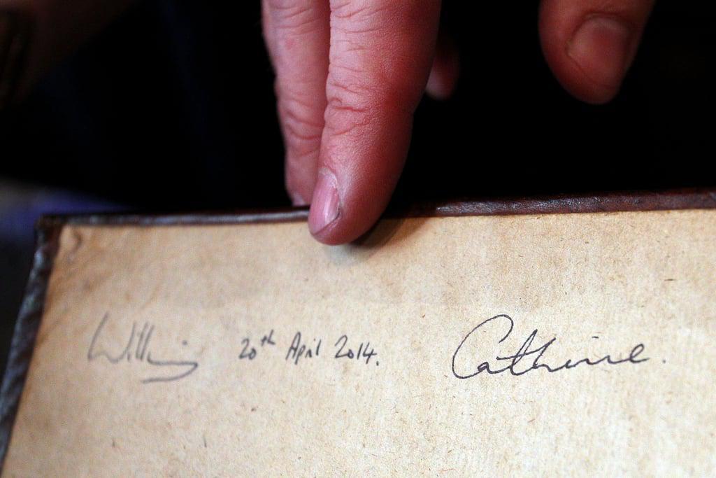 Пора в класс каллиграфии: Кейт Миддлтон поражает своим почерком image6