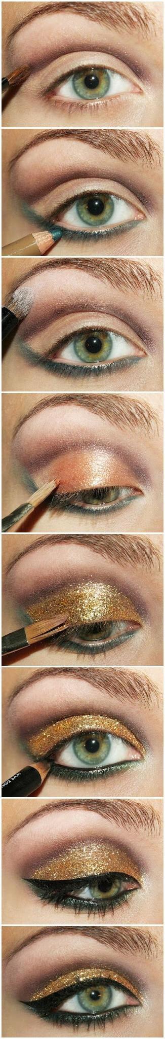 Идеи макияжа для зеленых глаз - 06