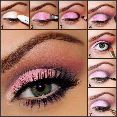 Идеи макияжа для зеленых глаз - 09