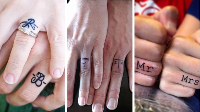 Тату вместо обручального кольца: пары которые решились на такой шаг