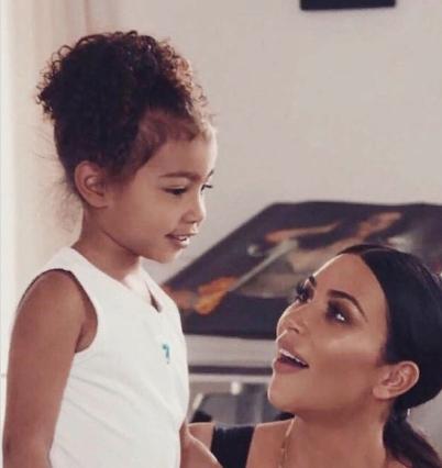 Ким Кардашьян трогательно поздравила дочку Норт с ее днем Рождения - image1