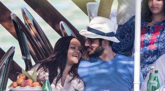 Рианна и Хассан Джамиль, её бойфренд, наслаждаются отдыхом в Италии | 10