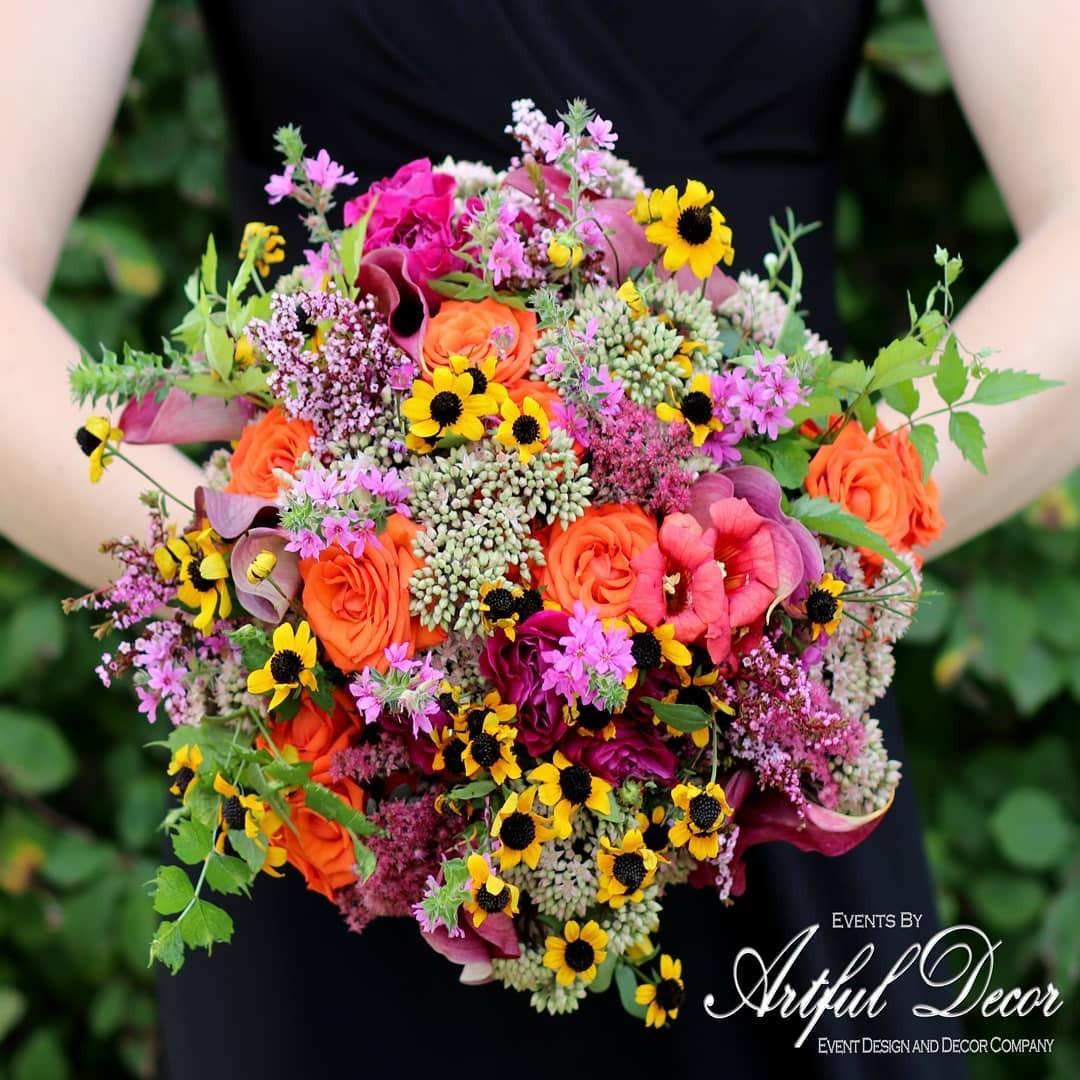 Свадебные букеты для самых красивых невест: модные тенденции 2019 | 11