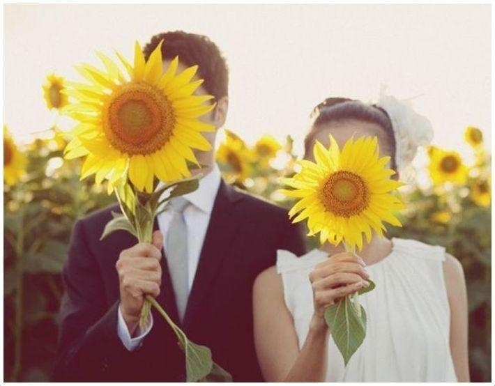 Свадебный декор из подсолнуха для самой солнечной свадьбы - image11